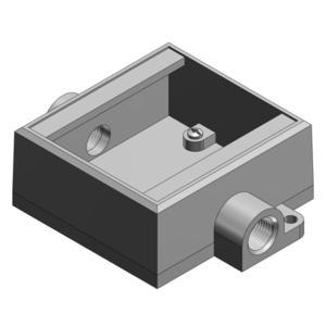 Thomas & Betts FSC12-TB TB FSC12-TB 2G 1/2 SHALLOW BOX