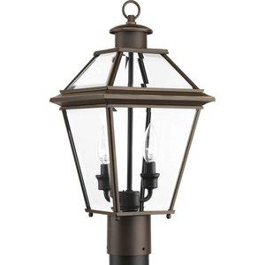 Progress Lighting P6437-20 2-Lt. Antique Bronze Post Lantern