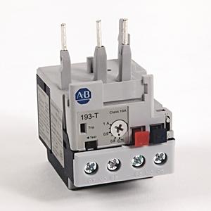Allen-Bradley 193-T1AB10 Relay, Overload, 0.75 - 1.0A, T1, IEC, Bi-Metallic