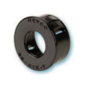 "Heyco 2400 Bushing, Type: Snap-In, Diameter: 2.00"", Non-Metallic"