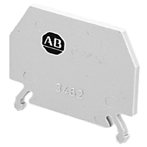 Allen-Bradley 1492-PP3 Terminal Block, Partition Plate, Gray, for 1492-W3, W4, WG4