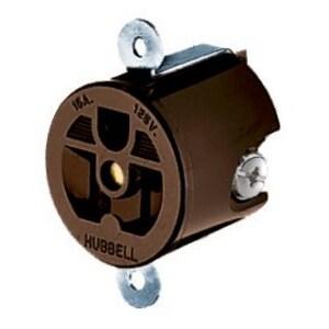 Hubbell-Kellems HBL5258 Hwdk Hbl5258 Shrt Strp Rcpt, 15a 12