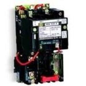 Square D 8536SBO2V02S Starter, Size 0, 18A, 600VAC, 120VAC Coil, Non-Reversing, Open, 3P