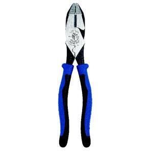 """Klein J2000-9NECR Side Cut/Crimping Pliers, 9-1/2"""", High Leverage, Journeyman"""