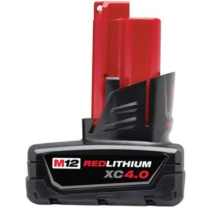 Milwaukee 48-11-2440 M12 XC Extended 4.0 Battery Pack