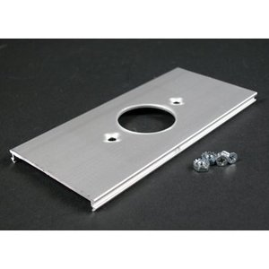 Wiremold AL3346E Single Recept Cover