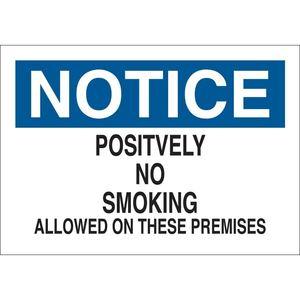 25093 NO SMOKING SIGN