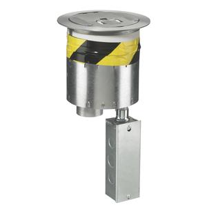 Hubbell-Wiring Kellems S1R6PTALU S1R FRPT 6 NO SUB PLATES ALUM