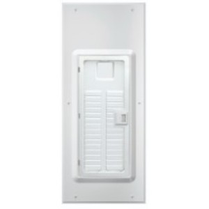 Leviton LDC30-W Indoor Load Center Cover and Door with Window, 30 space