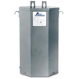 Acme T253014S Transformer, 5KVA, 1P, 240/480V, 120/240V, Isolation