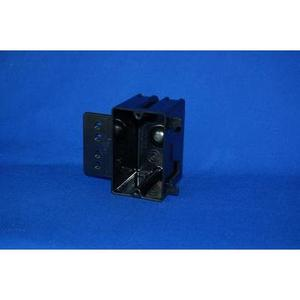 """Allied Moulded P-181H Switch/Outlet Box with Bracket, Depth: 2-5/8"""", 1-Gang, Non-Metallic"""