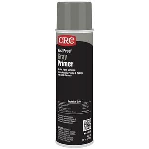 CRC 18150 Gray Primer Enamel Spray Paint, Rust Proof - 15oz Aersol Can