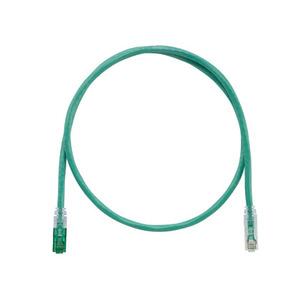 Panduit UTPKSP7GR Keyed Copper Patch Cord, Cat 6, Green UT