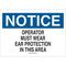 25495 EAR PROTECTION SIGN