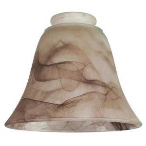 Westinghouse Lighting 8116700 BROWN SWIRL BELL