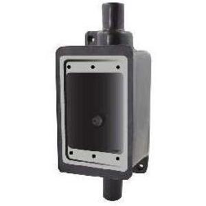 "Calbond PV0700FDC2 FDC Device Box, 1-Gang, 3/4"", PVC Coated Steel"