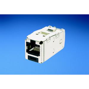 Panduit CJSK6X88TGBL Mini-Com Keyed Module, Cat 6A, Shielded,