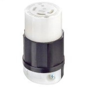 Leviton 2733 Locking Connector, 30A, 3PH 480V, 3P4W