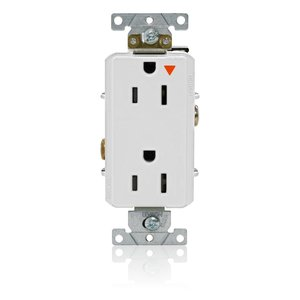 Leviton 16262-WIG Decora Plus Isolated Ground Duplex Receptacle Outlet