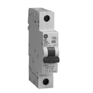 GE EP101ULD10 Breaker, Miniature, 1P, 10A, 120VAC, 10kAIC, DIN Rail Mount