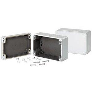 "nVent Hoffman Q1286PCEMC Junction Box, NEMA 4X, Screw Cover, 4.72 x 3.15 x 2.17"""