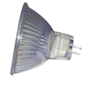 SYLVANIA 50MR16/B/FL35-12V Halogen Lamp, MR16, 50W, 12V, FL35