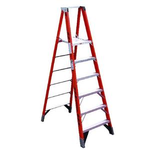 Werner Ladder P7404 4' Platform Step Ladder, Type IAA, 375 lbs