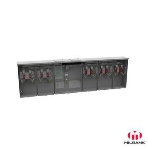Milbank U1255-X 200A 4T RL 5P CTR WY 19052