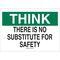 25341 SAFETY SLOGANS SIGN