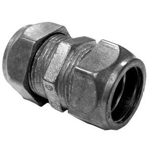 Appleton TC-613 EMT Compression Coupling, 1 inch, Zinc Die Cast, Concrete Tight