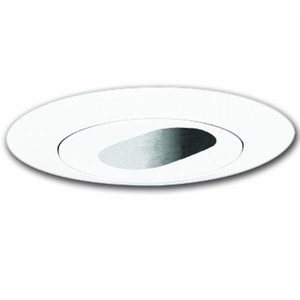 "Halo 1420P Slot Aperture Trim, 4"", White"