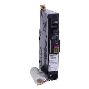 Square D QOB120VHDF MINIATURE CIRCUIT BREAKER 120V 20A
