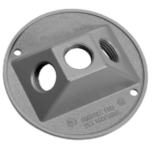 Cooper Crouse-Hinds TP7313 CH TP7313 RECTANG WP CVR 1/2 1 HOLE