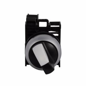 Eaton M22-WKV-K22 22mm Selector Switch, Knob Type, Black/White, M22