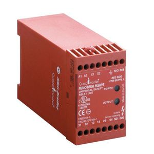 Allen-Bradley 440R-P23071 Logic Interface, Muting Module, MSR22LM, 24VDC, 6NC Inputs, 3 Outputs