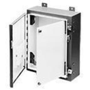 "nVent Hoffman ANADFK Swing-Out Panel Kit, NEMA 4/12, 12"" x 12"", Steel"