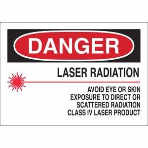 25261 RADIATION & LASER SIGN