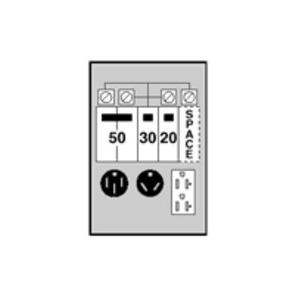 ABB GE1LU532SS GLV UNMTER 50/30/20