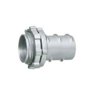 "Arlington GF125 Screw-In Connector, 1-1/4"", Zinc Die Cast"