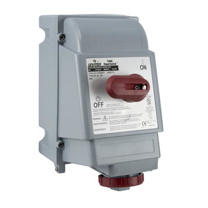Leviton 420MF7W 20 Amp, 480 Volt Mech. Interlock, Watertight
