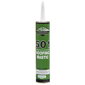 Dottie RKM10 Roof Mastic - 10.5oz Cartridge, For Caulking Gun