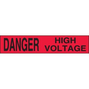 "Panduit PBB0040 BARR TAPE, 3.00""X1000', Danger HI VLTG,"