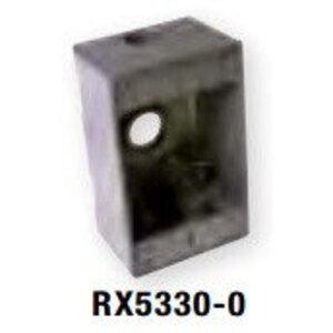 """Bizline RX5330-0 Weatherproof Outlet Box, 1-Gang, 2"""" Deep"""