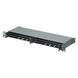 Panduit FLEX2UPN06 HD Flex patch panel, 2 RU, 6-port