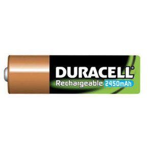 Duracell DC1500B2N005 Battery, 1.2V, AA, Nickel Metal Hydride, Rechargeable *** Discontinued ***