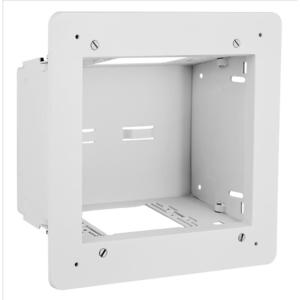 Hubbell-Bryant NSAV62M Enclosure, 2-Gang, In-Wall, White, 18 Gauge