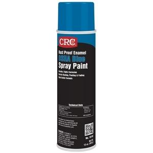 CRC 18102 Blue Enamel Spray Paint, Rust Proof - 15oz Aerosol Can
