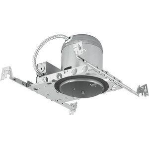 "Progress Lighting P851-ICAT Recessed IC Housing, 5"", Air-Tight, New Construction, 75W, 120V"