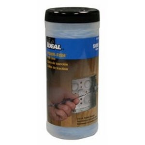 Ideal 31-348 Pull-Line,Ideal,Powr-Fish,500 FT LEN,Tensile Strength: 210.000 LB