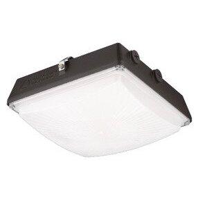 Lithonia Lighting CNY-LED-P2-40K-MVOLT-DDB-M4 LED Canopy Luminaire, Dark Bronze